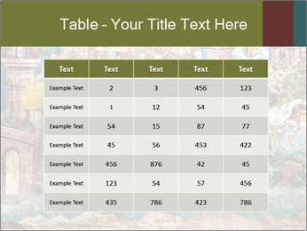 Medieval Fresco Art PowerPoint Template - Slide 55