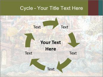 Medieval Fresco Art PowerPoint Template - Slide 62