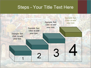 Medieval Fresco Art PowerPoint Template - Slide 64