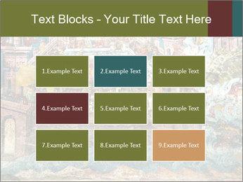 Medieval Fresco Art PowerPoint Template - Slide 68