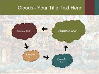 Medieval Fresco Art PowerPoint Template - Slide 72