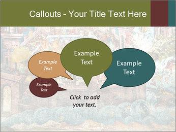 Medieval Fresco Art PowerPoint Template - Slide 73