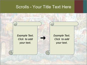 Medieval Fresco Art PowerPoint Template - Slide 74