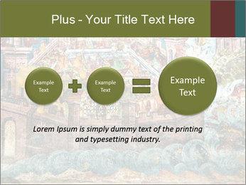 Medieval Fresco Art PowerPoint Template - Slide 75