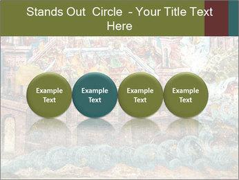 Medieval Fresco Art PowerPoint Template - Slide 76
