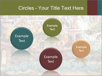 Medieval Fresco Art PowerPoint Template - Slide 77