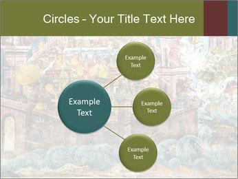 Medieval Fresco Art PowerPoint Template - Slide 79