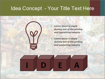 Medieval Fresco Art PowerPoint Template - Slide 80