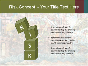Medieval Fresco Art PowerPoint Template - Slide 81
