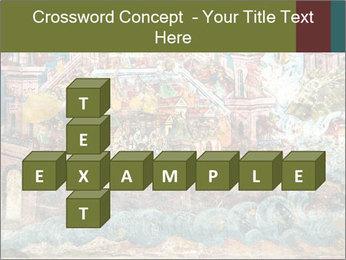 Medieval Fresco Art PowerPoint Template - Slide 82