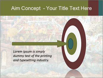 Medieval Fresco Art PowerPoint Template - Slide 83