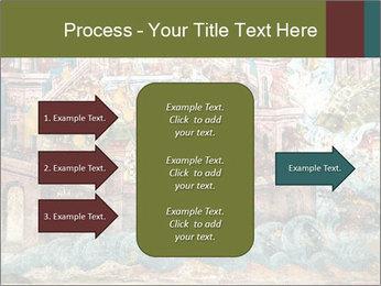Medieval Fresco Art PowerPoint Template - Slide 85