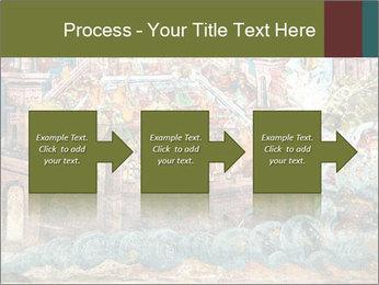 Medieval Fresco Art PowerPoint Template - Slide 88