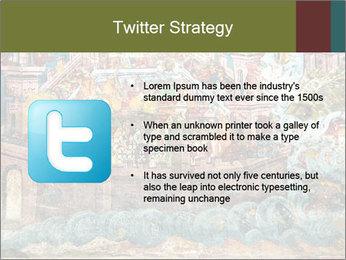 Medieval Fresco Art PowerPoint Template - Slide 9