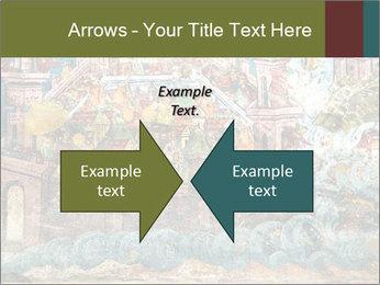 Medieval Fresco Art PowerPoint Template - Slide 90
