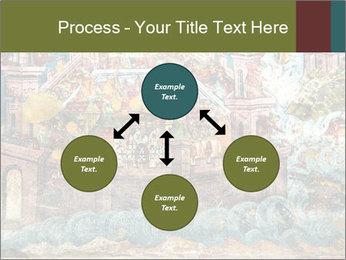 Medieval Fresco Art PowerPoint Template - Slide 91