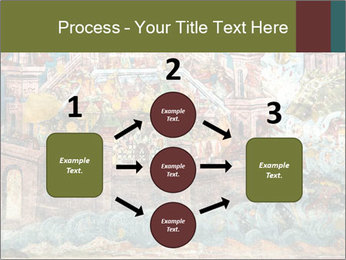 Medieval Fresco Art PowerPoint Template - Slide 92