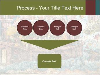Medieval Fresco Art PowerPoint Template - Slide 93