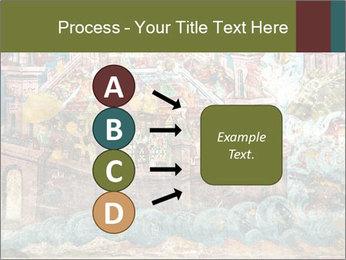 Medieval Fresco Art PowerPoint Template - Slide 94