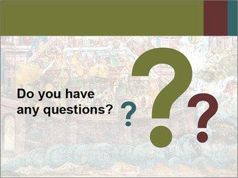 Medieval Fresco Art PowerPoint Template