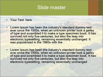 Green Farmland PowerPoint Templates - Slide 2