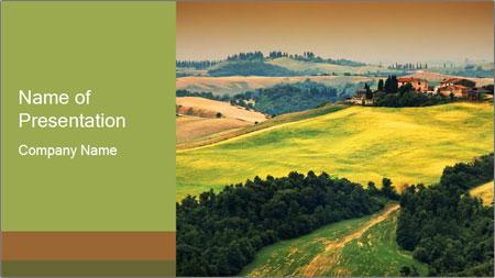 Green Farmland PowerPoint Template