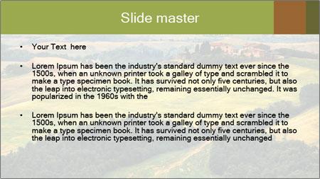 Green Farmland PowerPoint Template - Slide 2