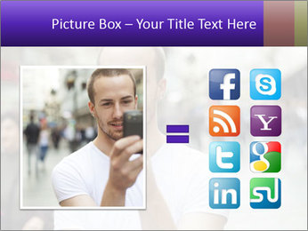 Selfie Photo PowerPoint Template - Slide 21