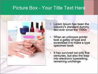 Manicur Treatment PowerPoint Template - Slide 13
