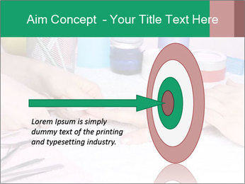 Manicur Treatment PowerPoint Template - Slide 83