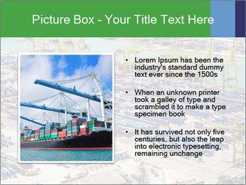 Huge Port PowerPoint Template - Slide 13