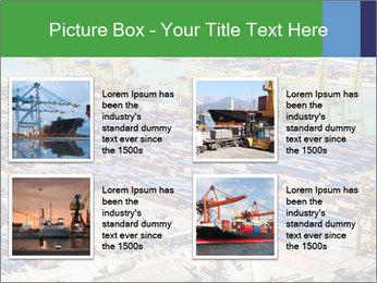 Huge Port PowerPoint Template - Slide 14