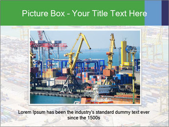 Huge Port PowerPoint Template - Slide 15