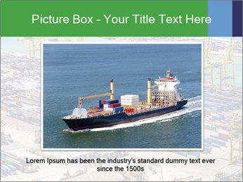 Huge Port PowerPoint Template - Slide 16