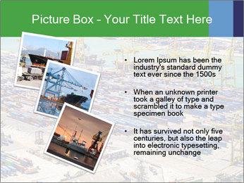 Huge Port PowerPoint Template - Slide 17