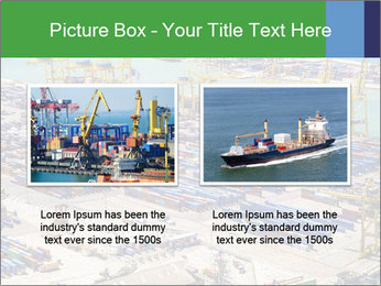Huge Port PowerPoint Template - Slide 18