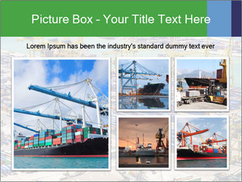 Huge Port PowerPoint Template - Slide 19