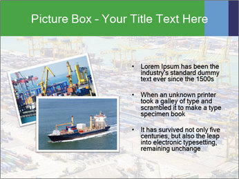 Huge Port PowerPoint Template - Slide 20