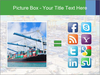 Huge Port PowerPoint Template - Slide 21
