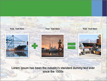 Huge Port PowerPoint Template - Slide 22