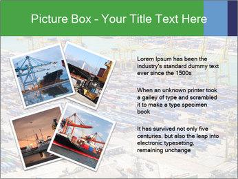 Huge Port PowerPoint Template - Slide 23