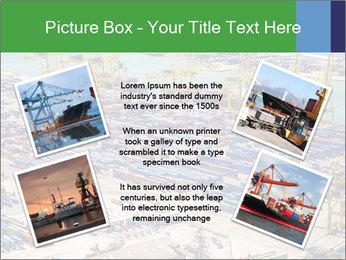 Huge Port PowerPoint Template - Slide 24