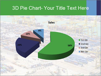 Huge Port PowerPoint Template - Slide 35
