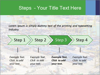 Huge Port PowerPoint Template - Slide 4