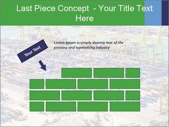 Huge Port PowerPoint Template - Slide 46