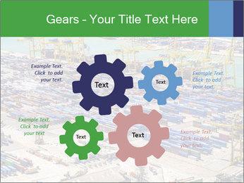 Huge Port PowerPoint Template - Slide 47