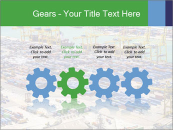 Huge Port PowerPoint Template - Slide 48