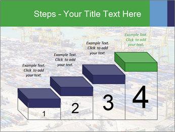 Huge Port PowerPoint Template - Slide 64
