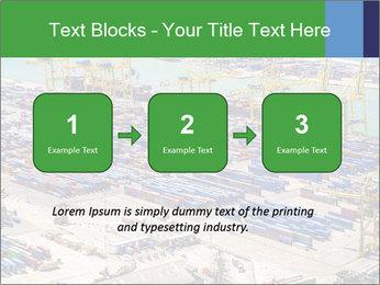 Huge Port PowerPoint Template - Slide 71