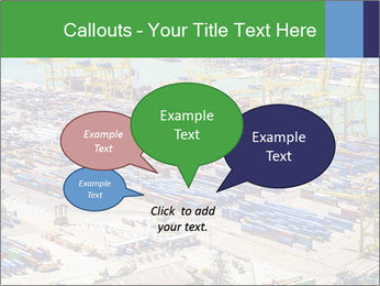 Huge Port PowerPoint Template - Slide 73